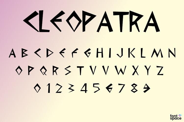 Cleopatra Font