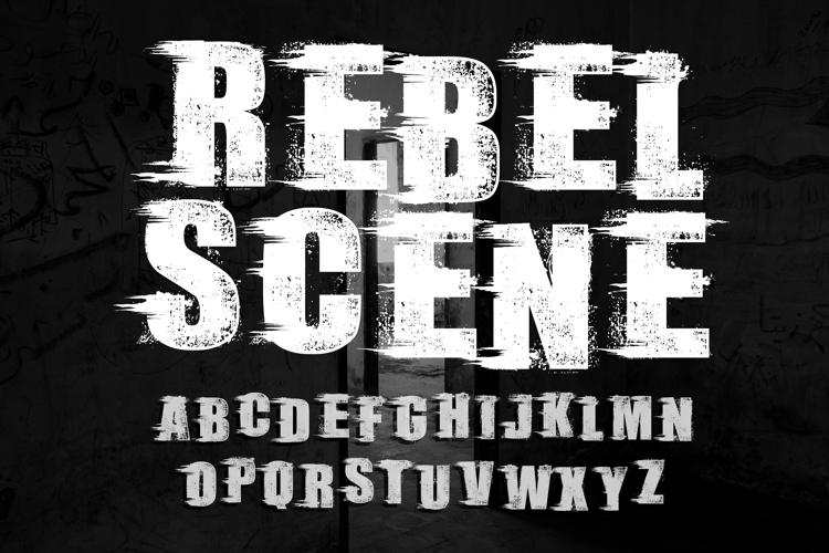 Rebel Scene_Demo Font