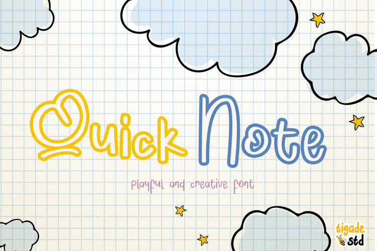 Quick Note Font