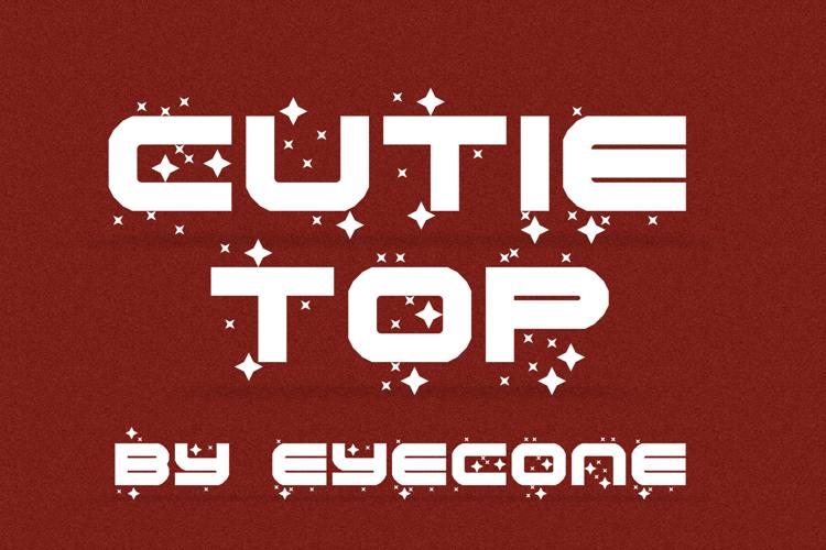 Cutie Top Font