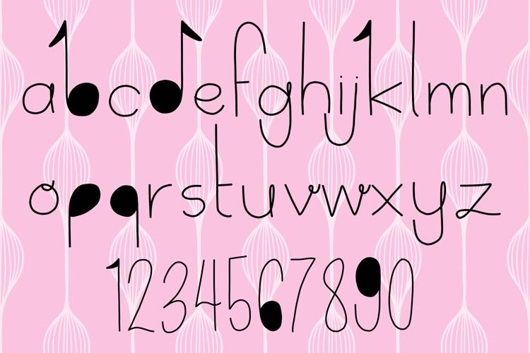 Delicate Font
