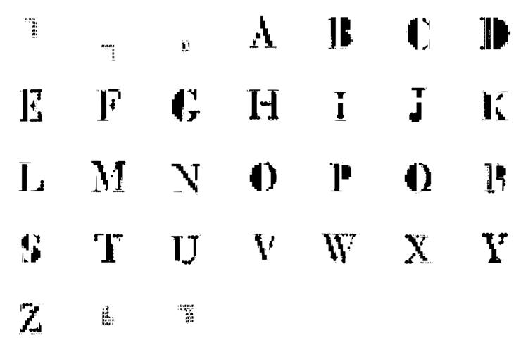 Mck Glitch Font