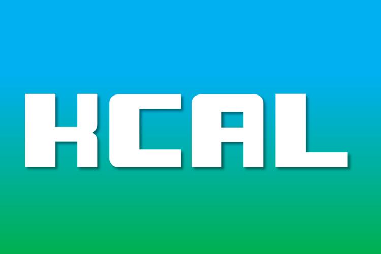KCAL Font