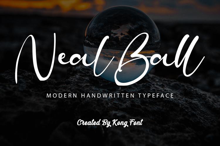 Neal Ball Font