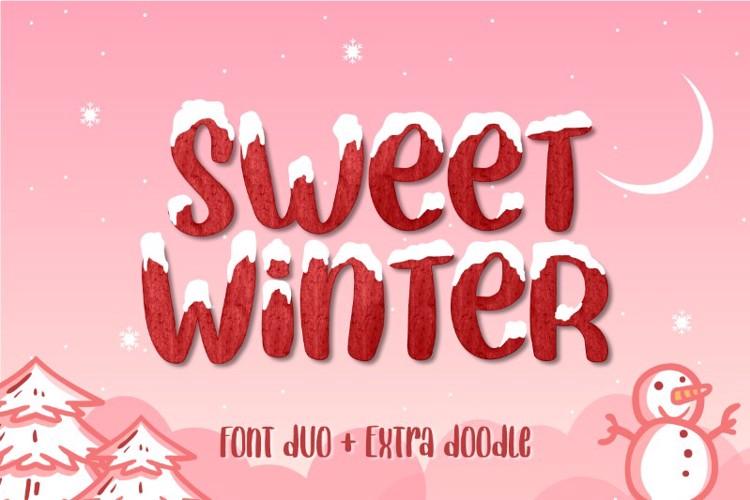 Sweet Winter Regular Font