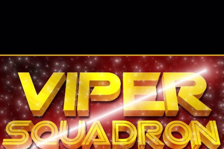 SF Viper Squadron Font