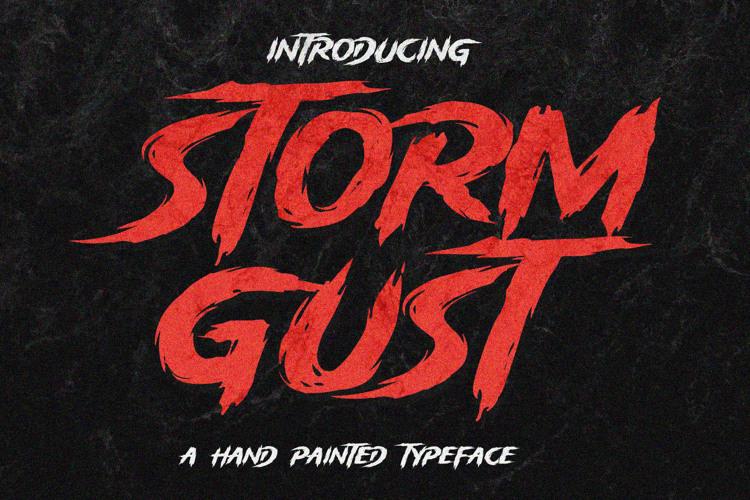 Storm Gust Font