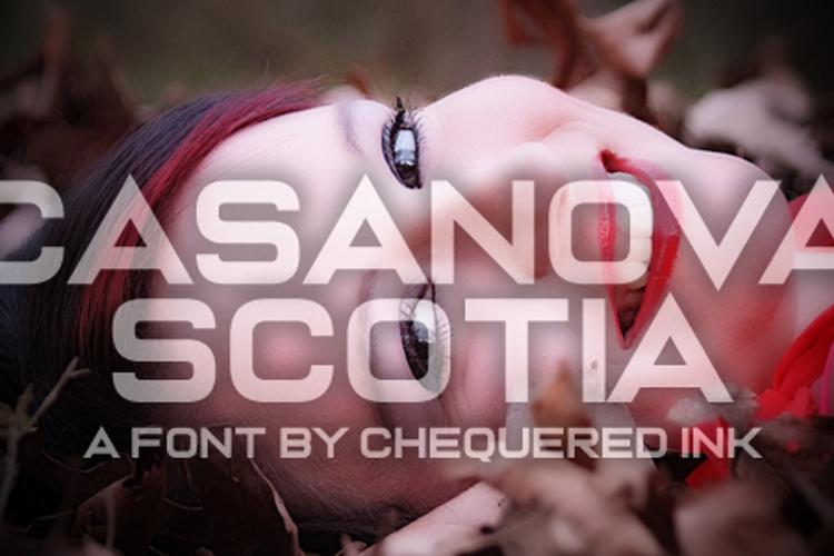 Casanova Scotia Font