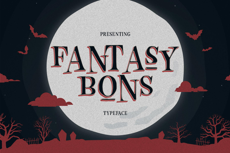 FANTASY BONS ONE Font