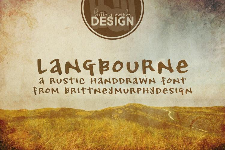 Langbourne Font