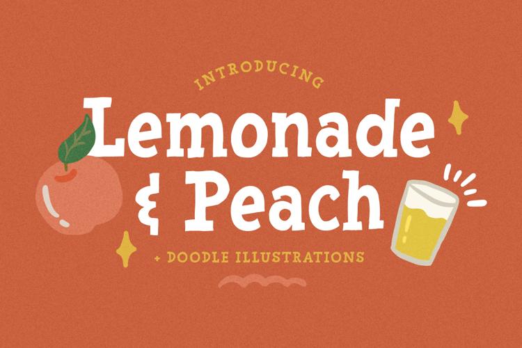Lemonade Peach Font