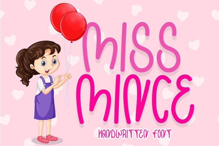 Miss Mince Font