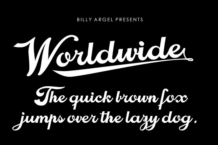 Worldwide Font