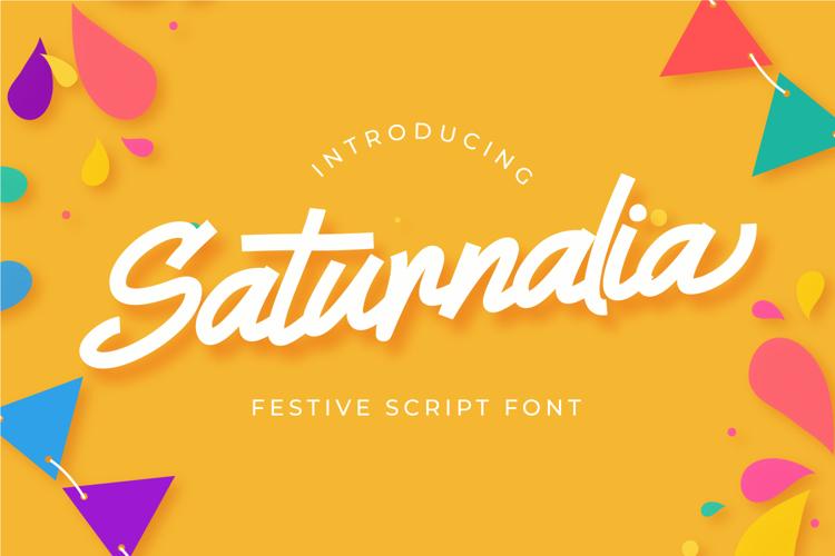 Saturnalia Font