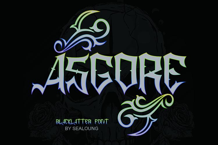 ASGORE Font