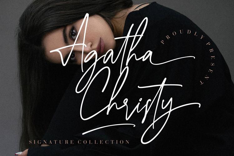 Agatha Christy Font