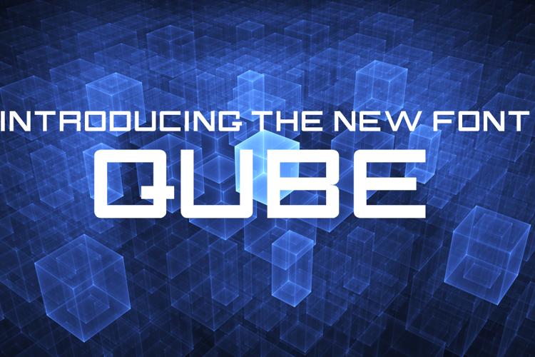 QUBE Font