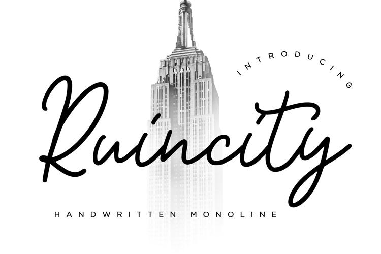 Ruincity Font