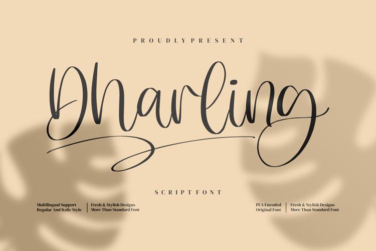 Dharling Font