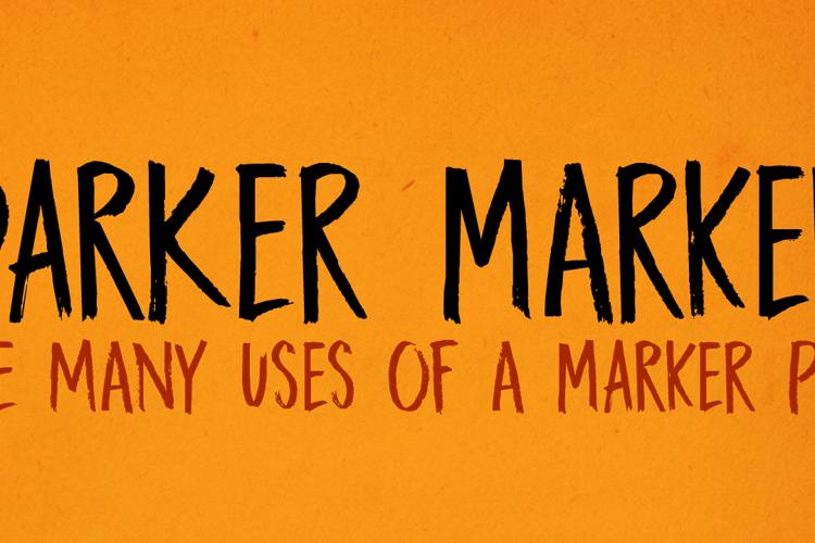 DK Darker Marker Font