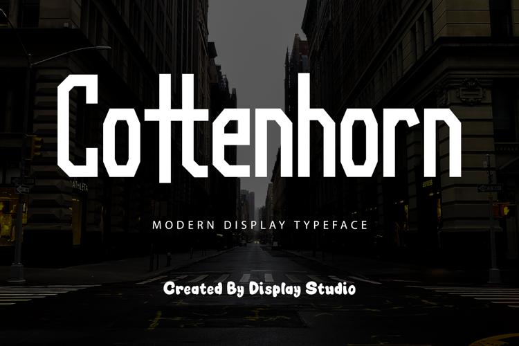 Cottenhorn Font