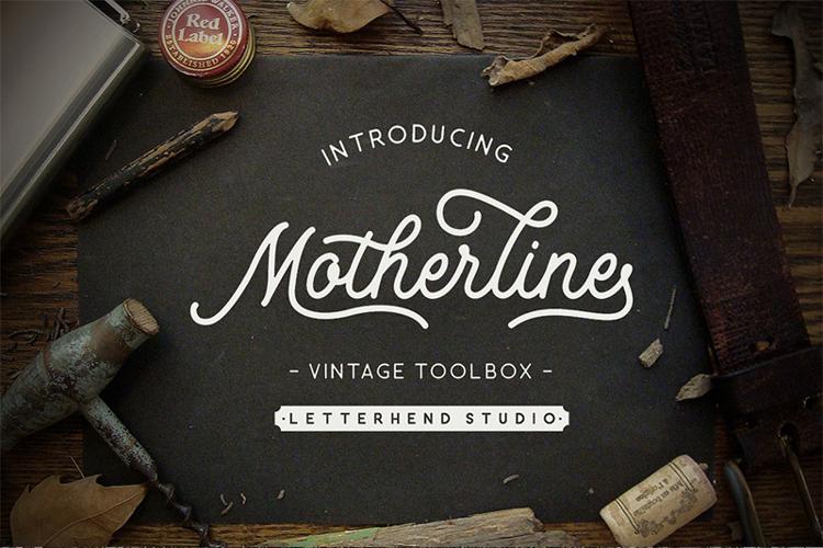 Motherline DEMO Font