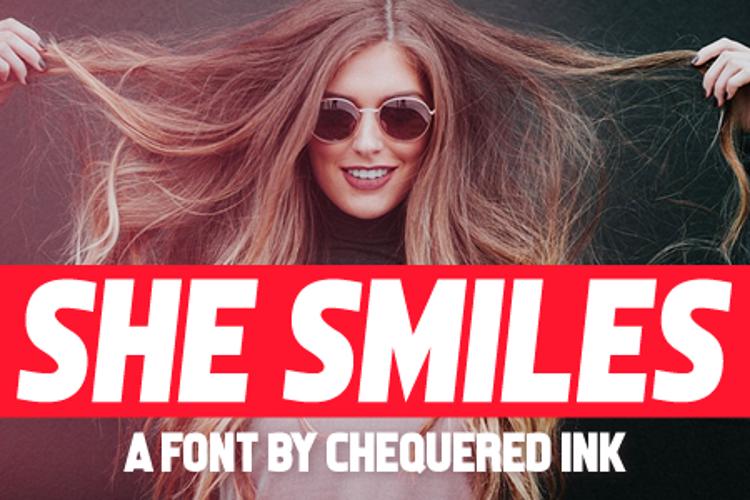 She Smiles Font