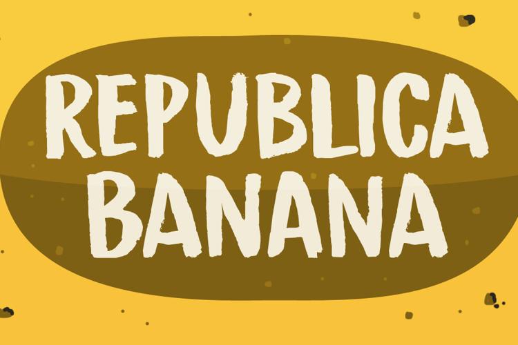 Republica Banana Font