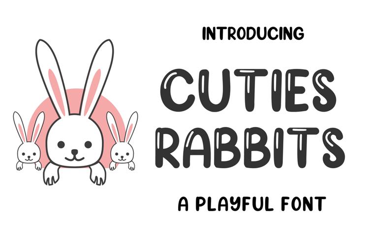 Cuties Rabbits Font