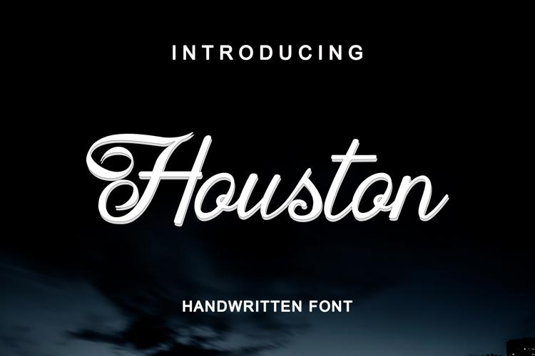 Houston Regular Font