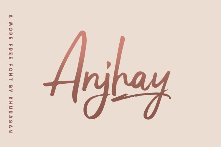 Anjhay Font
