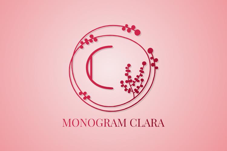Clara Monogram Font