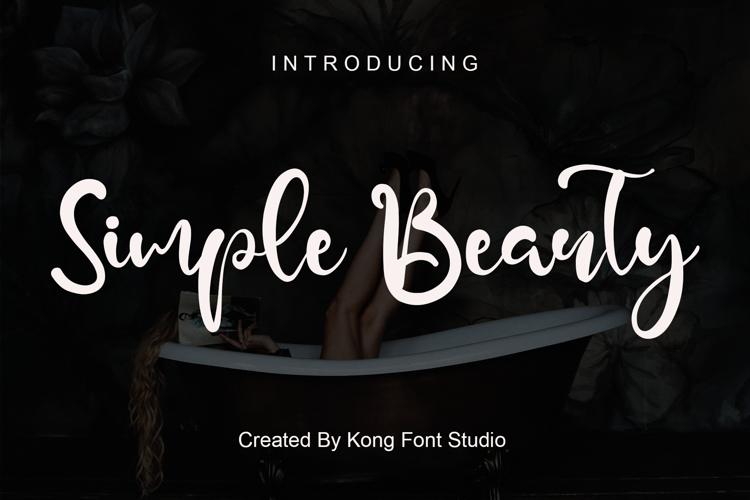 Simple Beauty Font