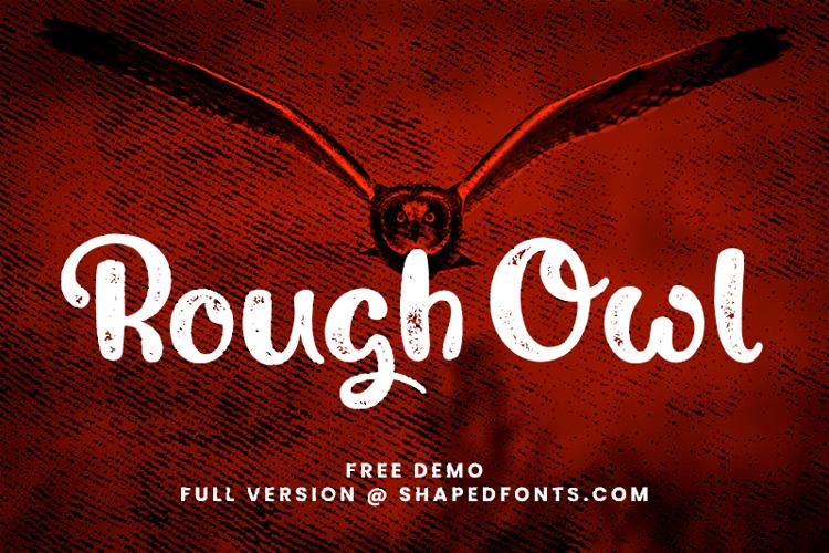 Rough Owl Font