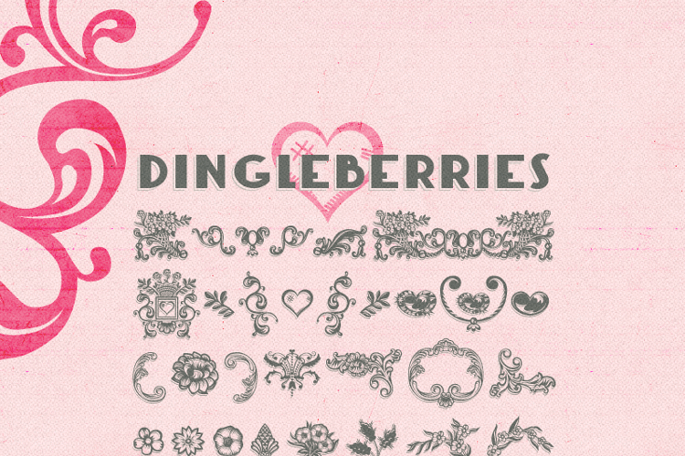 Dingleberries Font