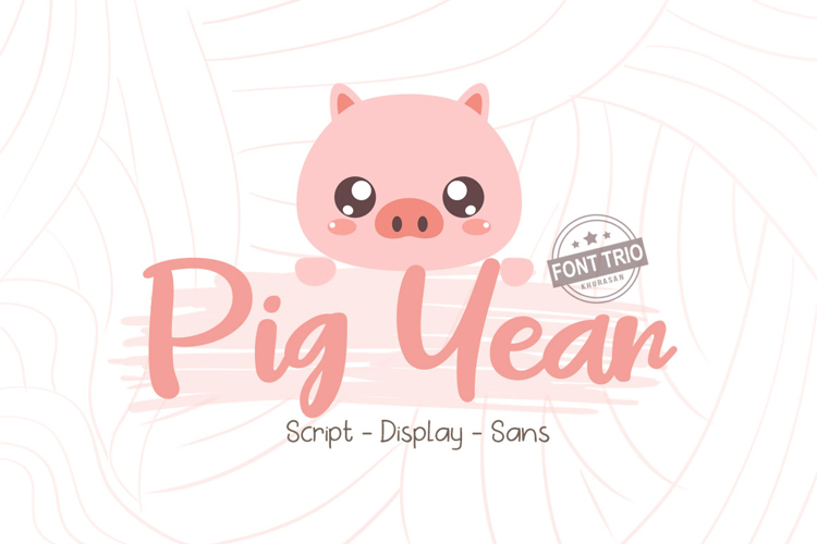 Pig Year Font