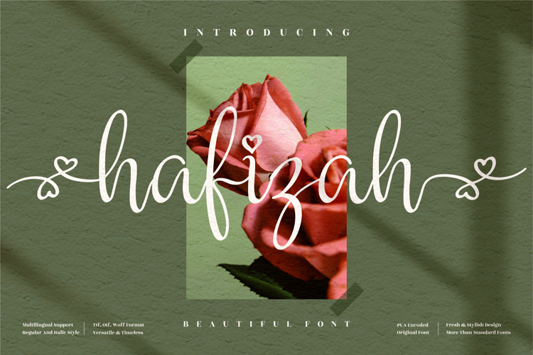 hafizah Font