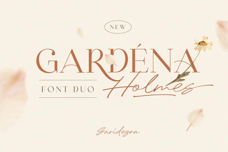 Gardena Holmes Script Font