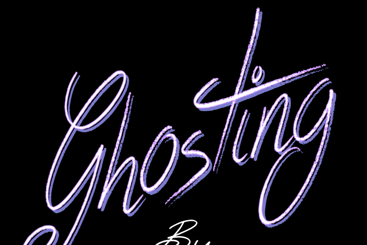 Ghosting Font