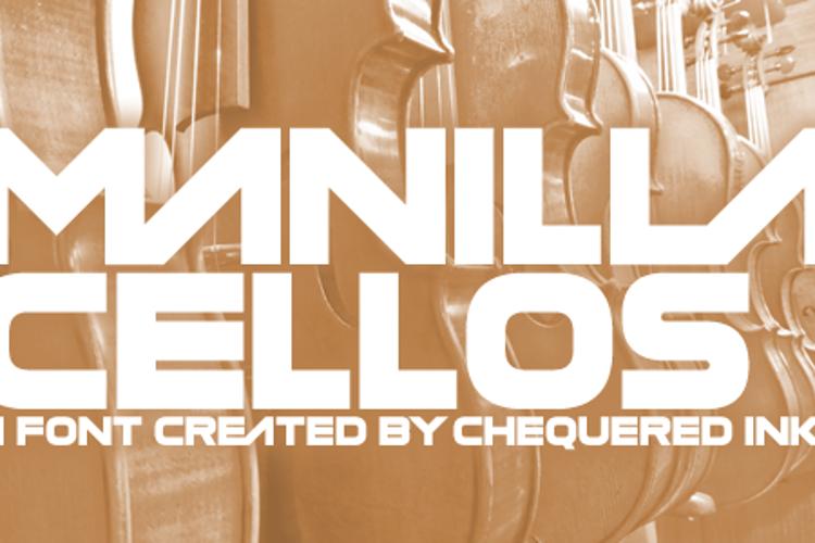 Manilla Cellos Font