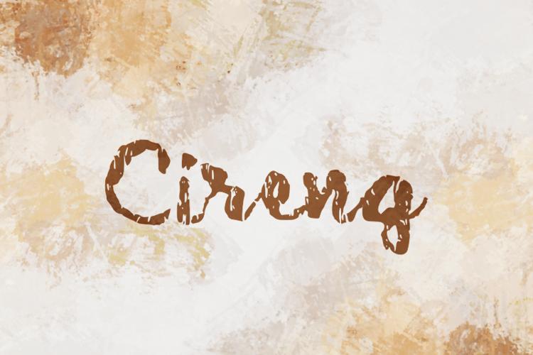 c Cireng Font
