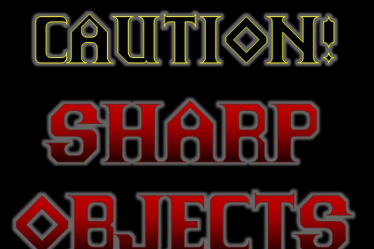 Sharp Objects NBP Font
