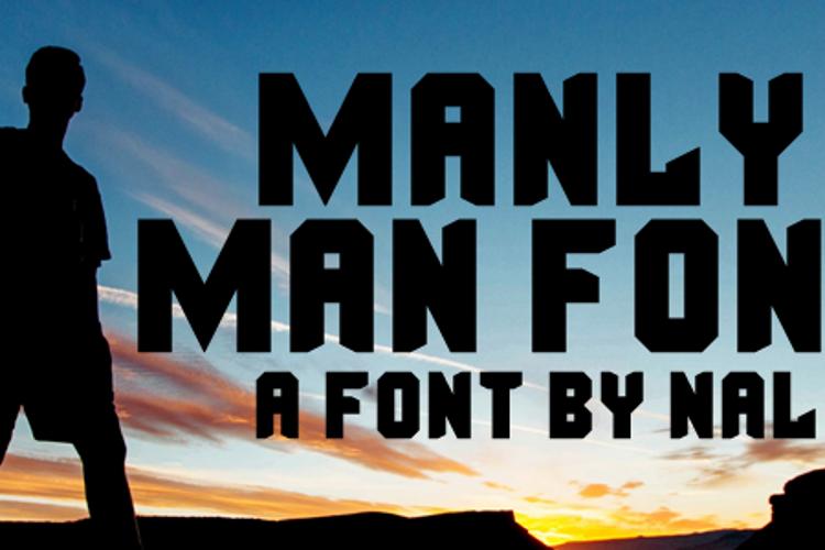 Manly Man Font