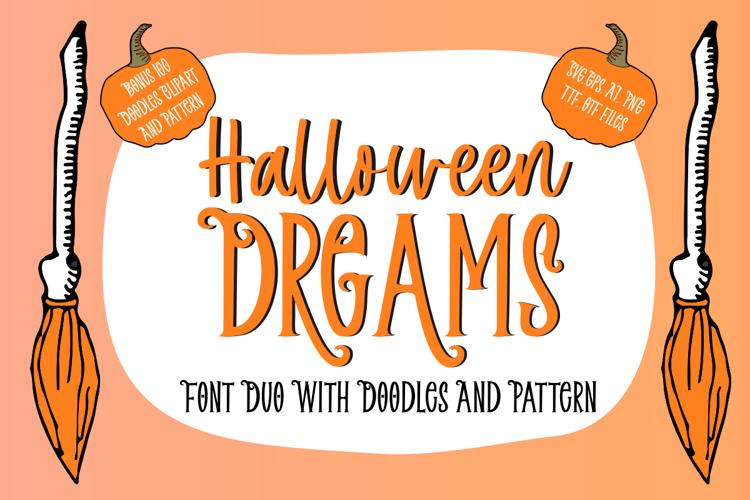 Halloween Dreams Script Font