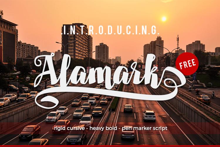 Alamark Lite Free Font