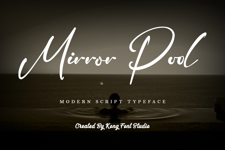 Mirror Pool Font