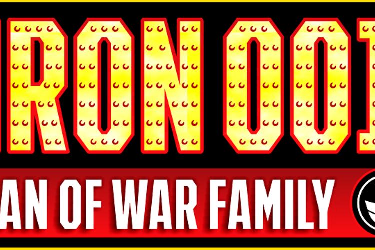 IRON MAN OF WAR 2 NCV Font