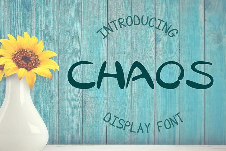 EP Chaos Font