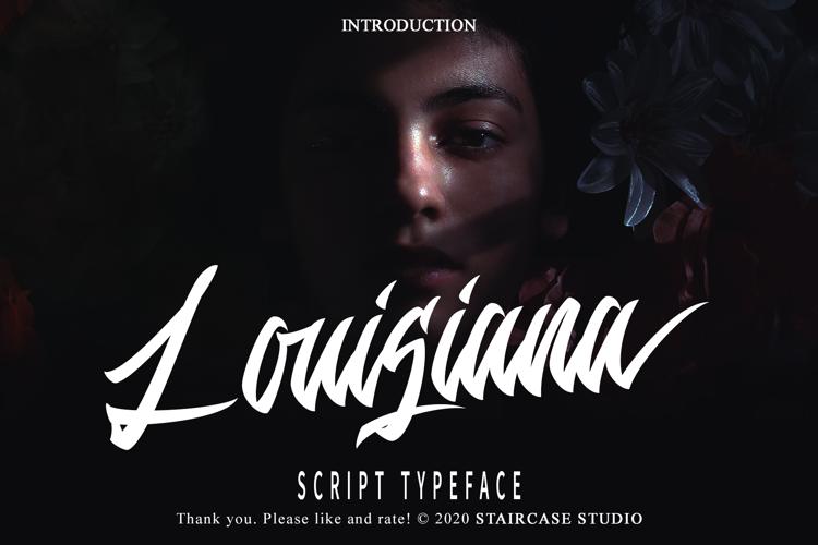 Louisiana Font