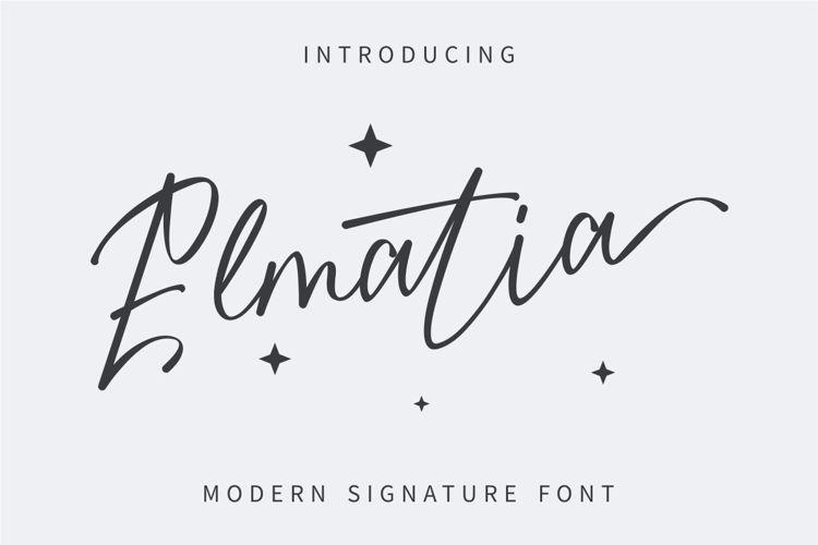 Elmatia Font